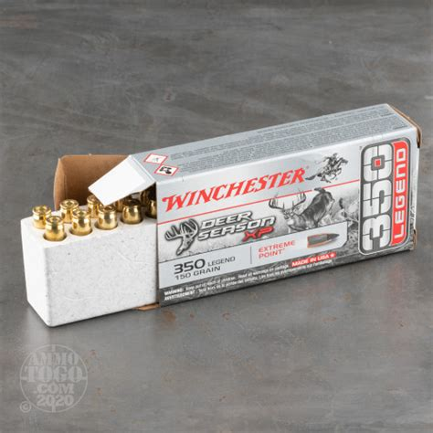 350 Legend Ammo 200 Rounds Of 150 Grain Polymer Tipped