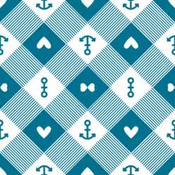 Blue Chevron Background with Anchor