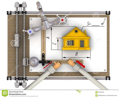 The Concept Of Calculation Of The Water Supply At Home Stock Illustration Vancouver Carpet Installation End Of The Roll Runners Average Cost To A Room Uk Disposal Carlos Cleaning Vacaville Barn Murray Utah Steam Melbourne Lexmark Mills Inc Dalton Ga