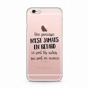 Coque Pour Iphone 6 : coque iphone 6 et 6s princesse r etard ~ Teatrodelosmanantiales.com Idées de Décoration
