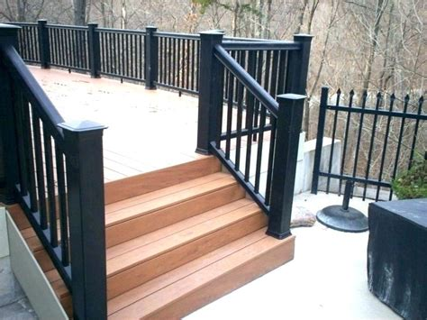 Interior Wood Stair Railing Kits Wooden For Stairs Inside