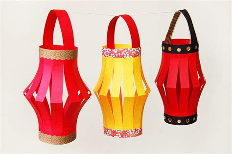 paper lanterns kids crafts fun craft ideas