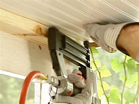 Installing A Beadboard Ceiling Materials And Methods : How To Install A Beadboard Ceiling In A Porch