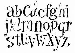 Easy Lettering Styles Alphabet Handwritten Brush Style ...