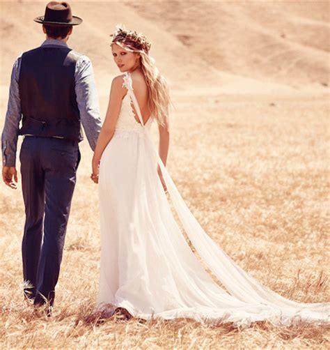 boho wedding dress   outdoor wedding milanoo blog