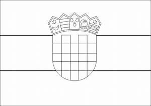Ausmalbilder Flaggen Kostenlos Malvorlagen Zum