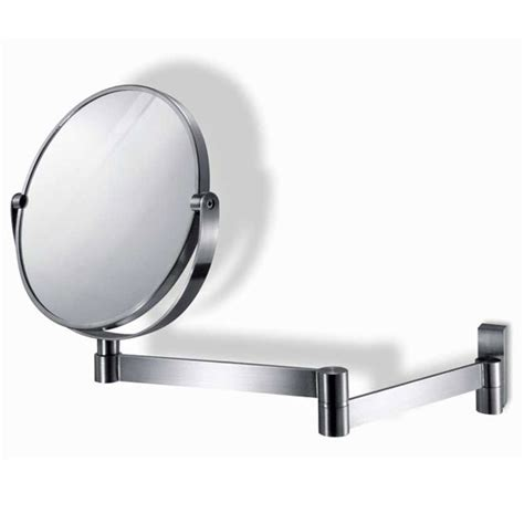 extendable bathroom mirror walmart zack fresco extendable mirror stainless steel 40109 at