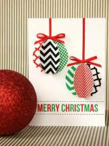 handmade modern ornament holiday card hgtv