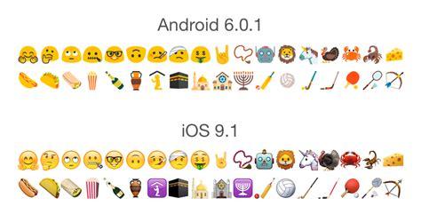 Android 6.0.1 Emoji Changelog