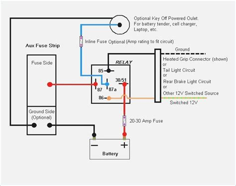 5 pin relay wiring diagram moesappaloosas
