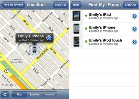 how does find my iphone work apple releases find my iphone app to locate lock or