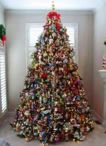 professionally decorated trees with ribbon how to decorate a tree