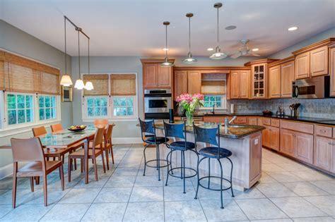 open concept kitchen    home