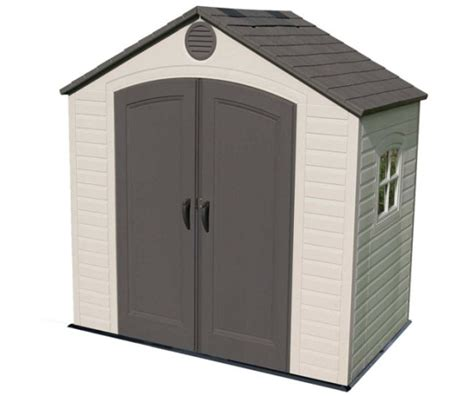 lifetime shed 6406 8 ft x 5 ft outdoor plastic storage sheds
