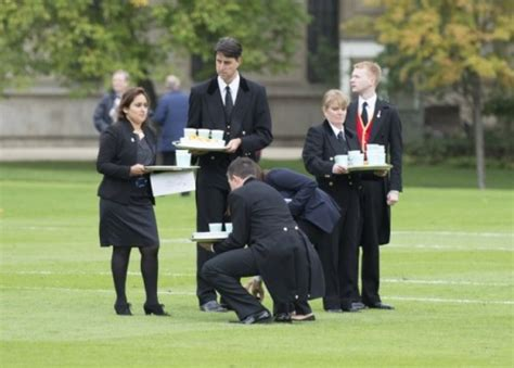 Football match at Buckingham Palace » Who Ate all the Pies