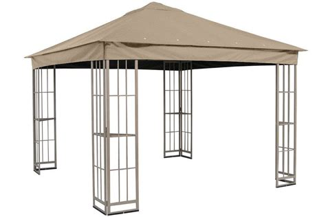 Garden Treasures Replacement Canopy by Garden Treasures 10 X10 Canopy For S J 109dn In Taupe