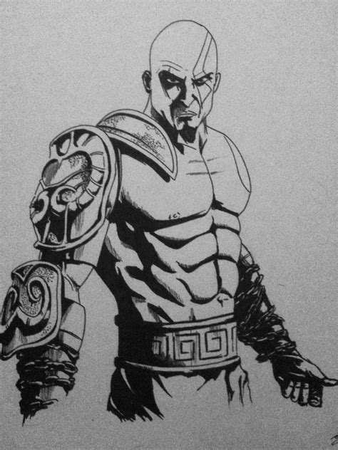 Kratos God Of War By Mikimusprime On Deviantart
