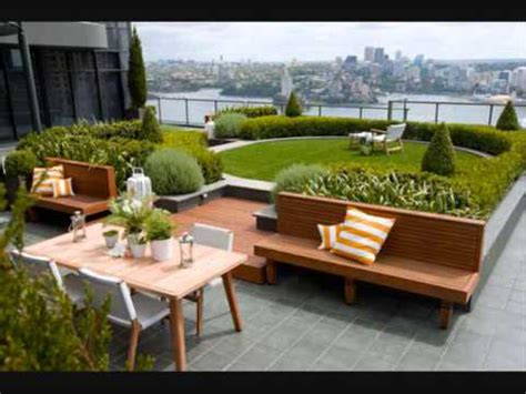 Roof Garden Decoration Ideas by Rooftop Garden Decoration Ideas
