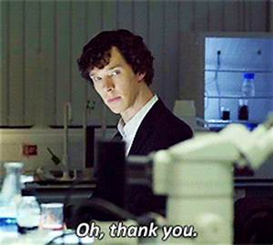 Sherlock Holmes Thank You GIF - Find & Share on GIPHY