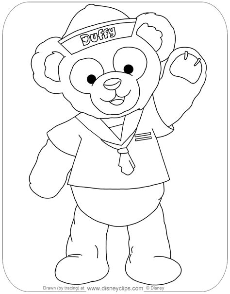 Coloring Pages by Duffy The And Friends Coloring Pages Disneyclips