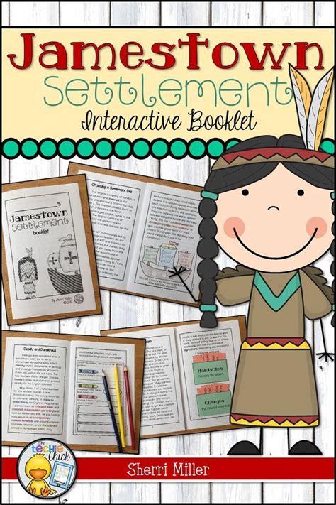 Jamestown Settlement Interactive Booklet | Teacher ...