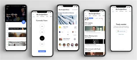 redesigning   york times app  ux case study