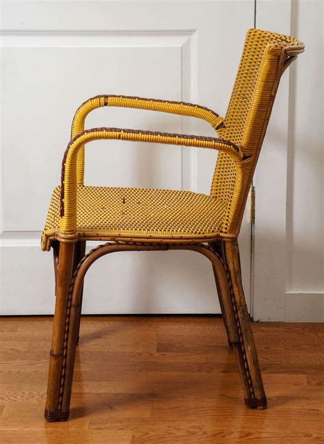 wicker bistro chairs for sale at 1stdibs