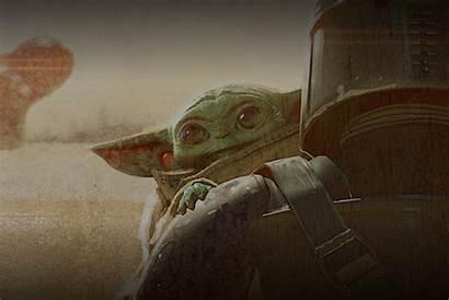 Yoda Mandalorian Pc Alien Wallpapers Desktop Laying