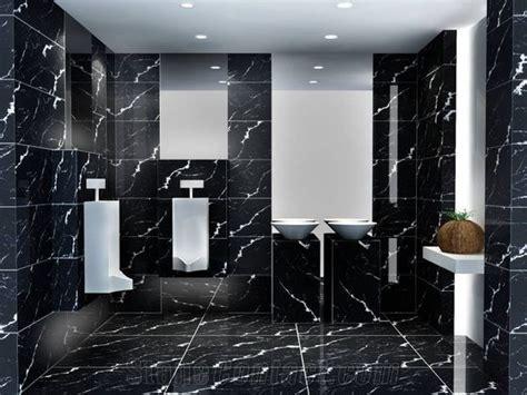 Nero Marquina Marble Bathroom Wall Floor Covering Tiles