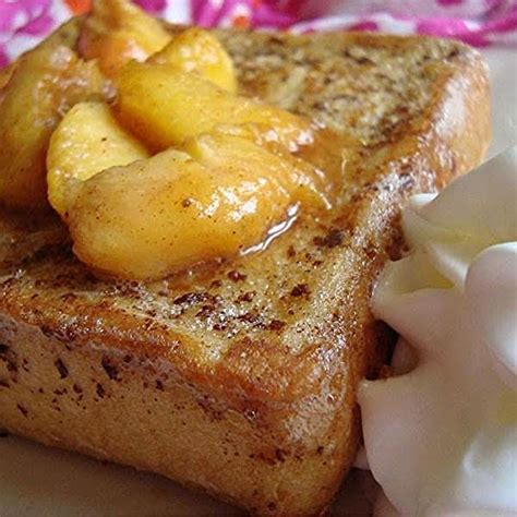 Peach Stuffed French Toast Recipe Just Pinch Recipes