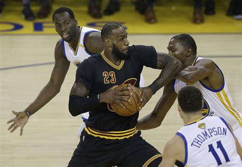 Golden State Warriors vs. Cleveland Cavaliers NBA Finals ...