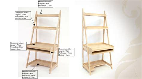 bureau largeur 50 cm meuble bureau etagere meuble d angle informatique