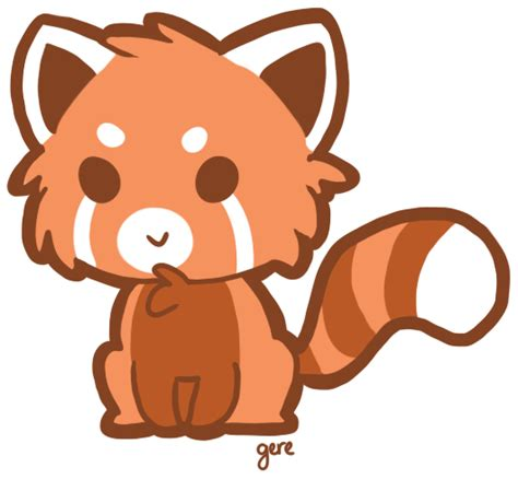 red panda clipart gclipartcom