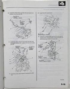 2003 Honda Accord V6 M  T Service Shop Repair Manual Supplement