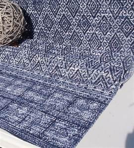 Teppich Landhausstil Blau : teppich l ufer antonio blau wei webteppich 60x90 flickenteppich 60 x 90 cm teppich ~ Markanthonyermac.com Haus und Dekorationen