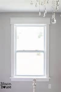bathroom window curtains ideas diy window trim the easy way
