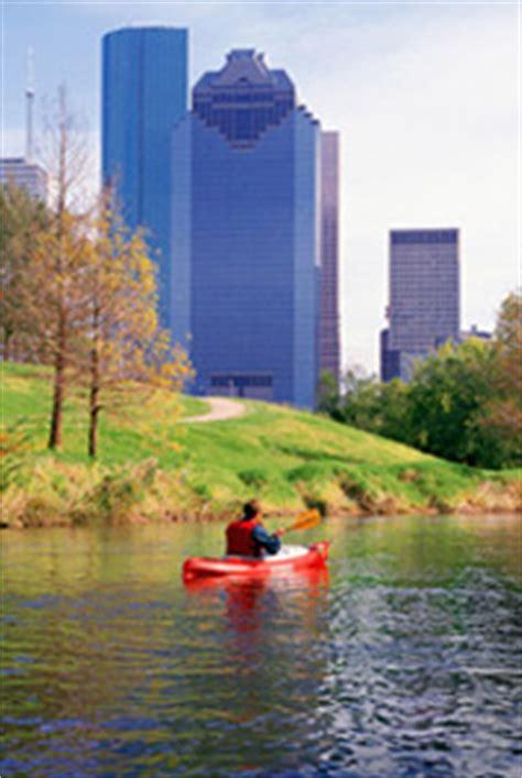Boat Paddling Houston tpwd buffalo bayou paddling trails