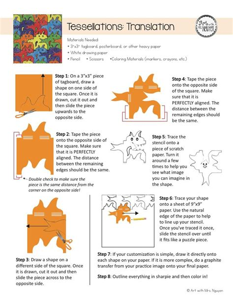 8 best tessellations education lessons elementary and visual arts