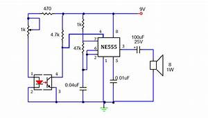 Smokedetector U202c Alarm Circuit Is A Device That Senses Smoke