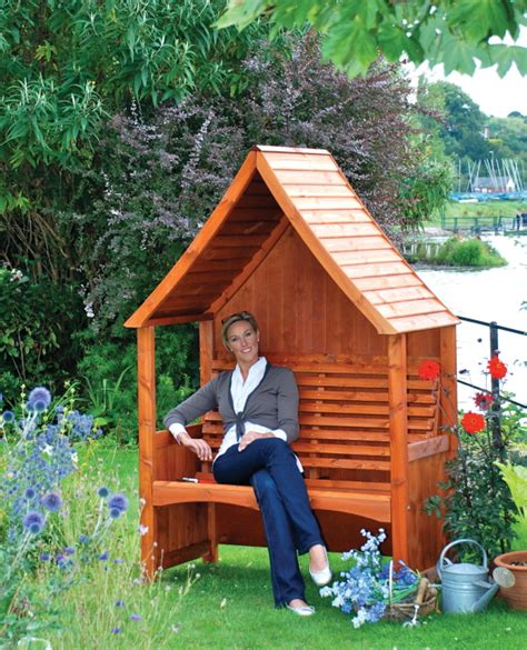 goodwood arbour teak stained afk marketing