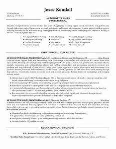 car salesman resume sample 2 With car salesman resume