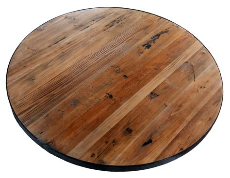 Runde Tische Holz by Reclaimed Wood Table Tops Restaurant Cafe Supplies