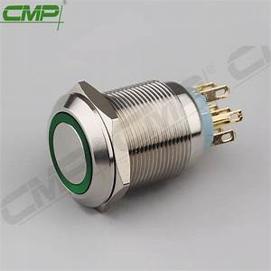 China Cmp Momentary Or Latching Push Button Double Pole Double Throw Light Switch