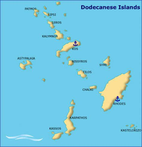 dodecanese islands yacht charter  greece sailing
