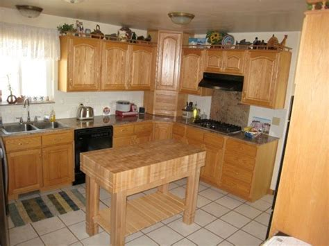 refinishing oak kitchen cabinets before and after telisa s refinishing oak cabinets before and after pictures