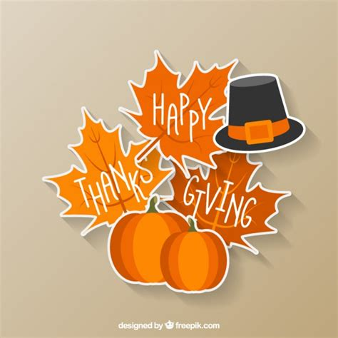 Happy Thanksgiving Images Free Happy Thanksgiving Sticker Vector Free