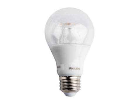 philips dimmable 6 watt 2700k to 2200k a19 led bulb 6a19