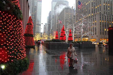 Un Noel A New York (1ère Partie)  Les Voyages De Marina