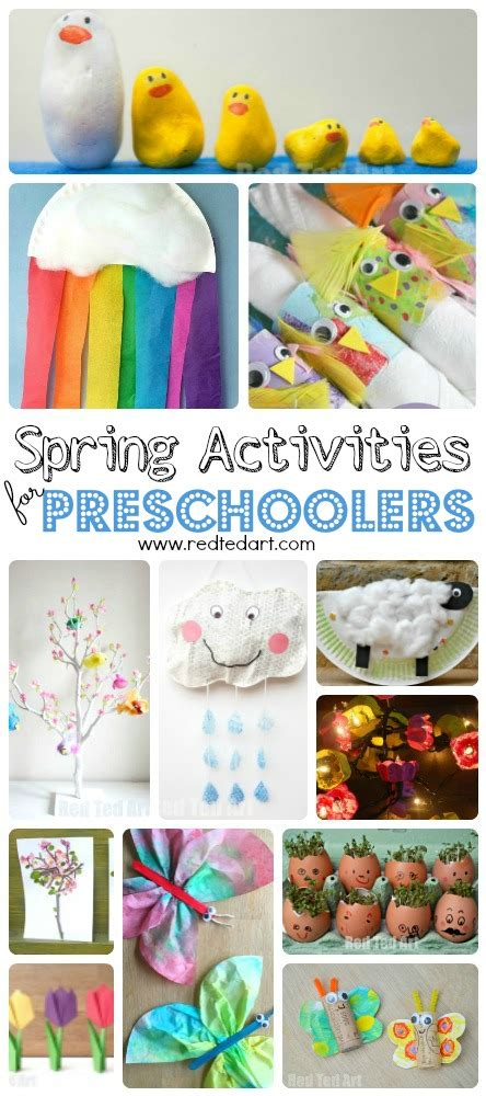easy crafts for preschoolers and toddlers ted 337 | Spring Crafts Preschool .