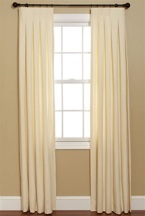 classy bedroom ideas butterfly pleat top curtain inverted